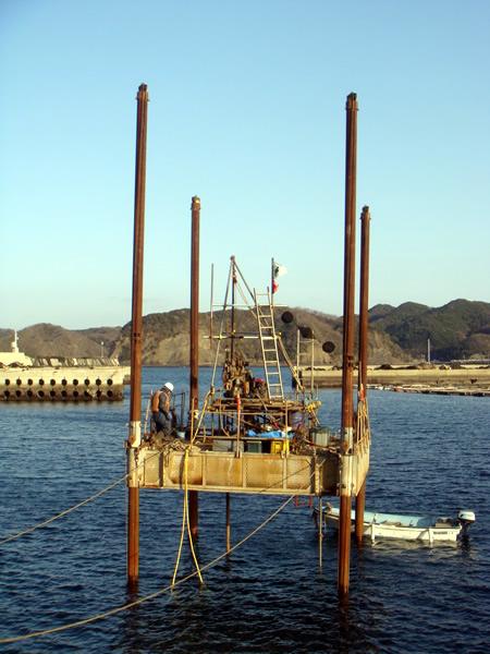 唐崎漁港地質調査委託(-3m岸壁(改良))